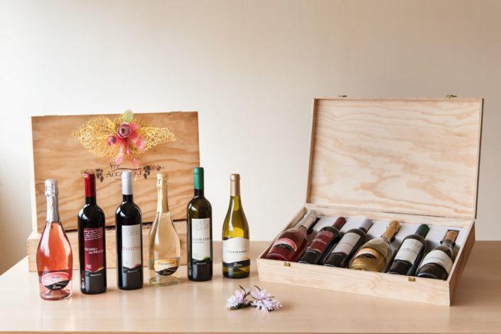 confezioni in legno vini accattoli